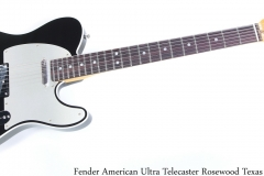 Fender American Ultra Telecaster Rosewood Texas Tea Full Front View