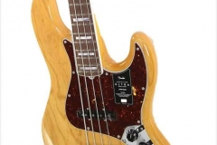 Fender American Ultra Jazz Bass Rosewood Fingerboard Aged Natural