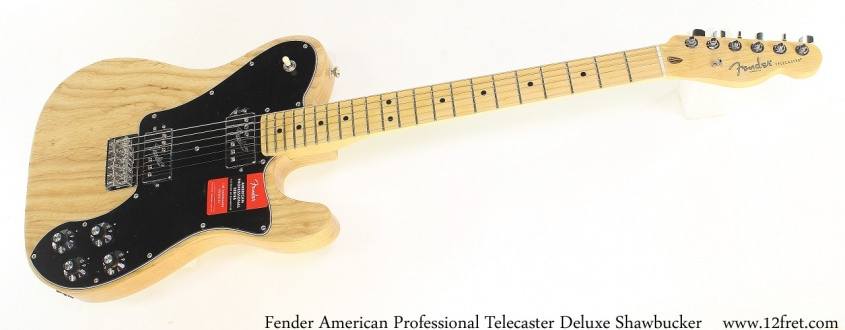 Fender American Professional Telecaster Deluxe Shawbucker Full Front View