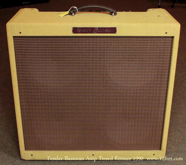 1990 fender tweed 59 bassman amplifier. Black Bedroom Furniture Sets. Home Design Ideas