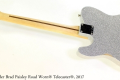 Fender Brad Paisley Road Worn® Telecaster®, 2017 Full Rear View