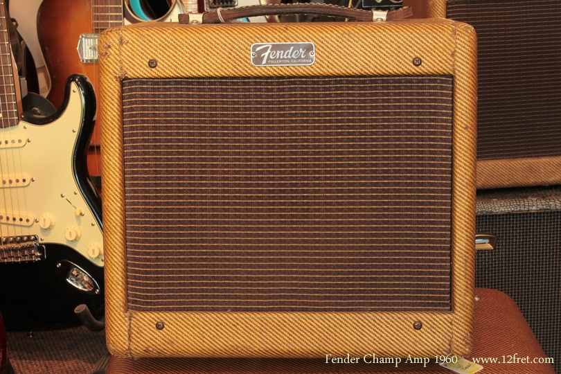 Fender Champ 1960 front