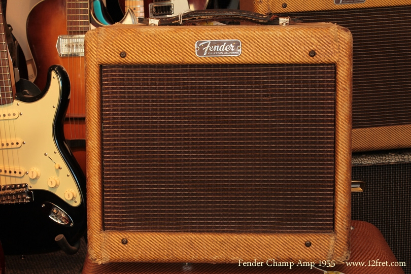Fender Champ Amp 1955 front view