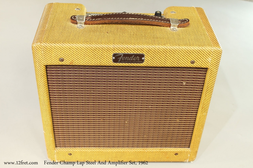 Fender Champ Lap Steel And Amplifier Set, 1962 Champ Amplifier Front