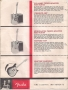 Fender Champ Lap Steel And Amplifier Set, 1962  Catalog Page 4