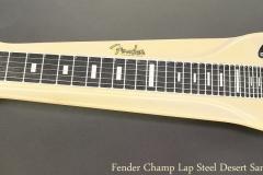 Fender Champ Lap Steel Desert Sand, 1962 Full Front View
