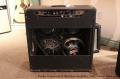 Fender Concert 4x10 Blackface Amplifier, 1965 Full Rear View