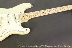 Fender Custom Shop '69 Stratocaster Relic White, 2006 Full Front View