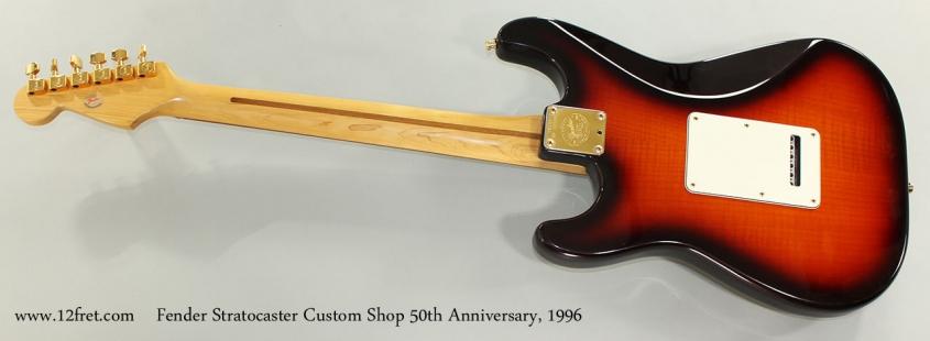 Fender Stratocaster Custom Shop 50th Anniversary, 1996 Full Rear View