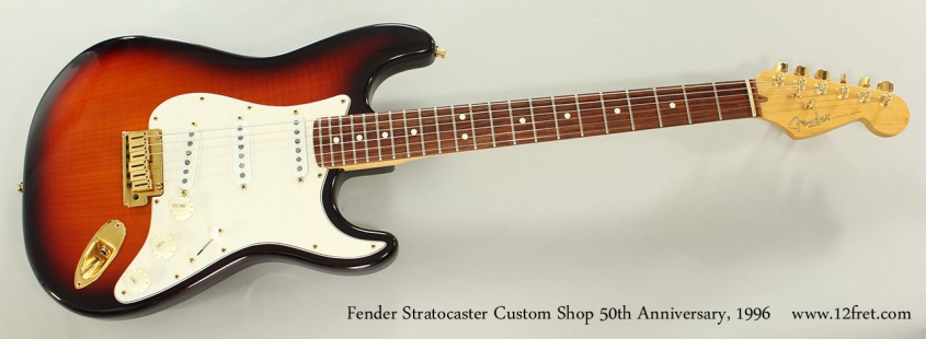Fender Stratocaster Custom Shop 50th Anniversary, 1996 Full Front View