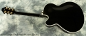 Fender D\'Aquisto Elite Archtop Black 1989 full rear view