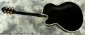 Fender D\'Aquisto Elite Archtop Black 1989 full rear view