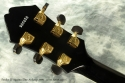 Fender D\'Aquisto Elite Archtop Black 1989 head rear view