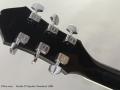 Fender D'Aquisto Standard 1984 head rear