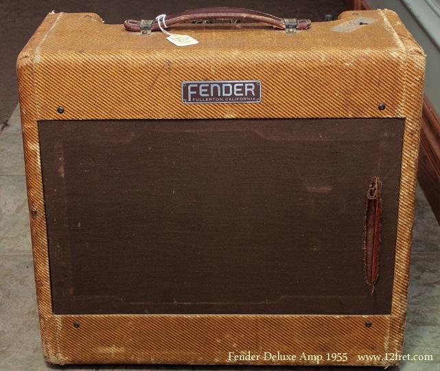 Fender Deluxe Amp 1955 front