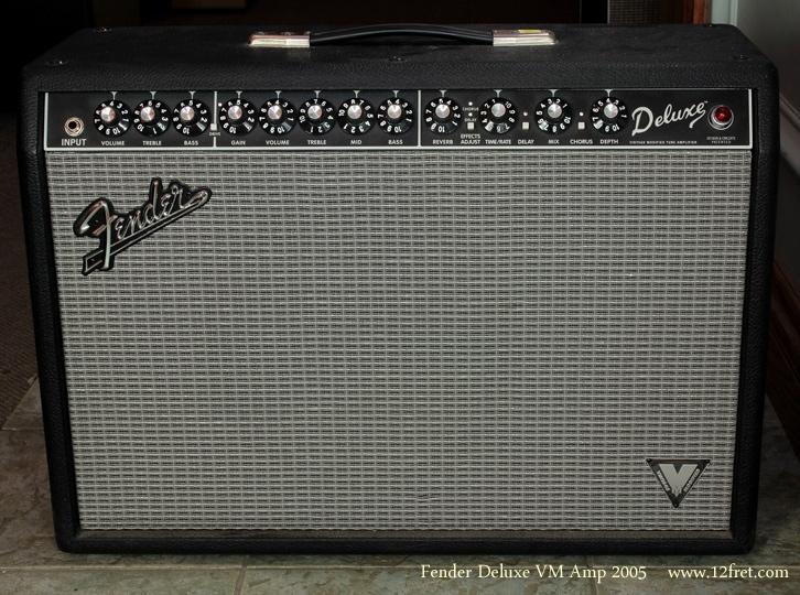Fender Deluxe VM Amplifier 2005 front view