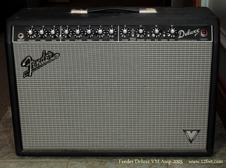 Fender Deluxe VM Amplifier 2005 front view