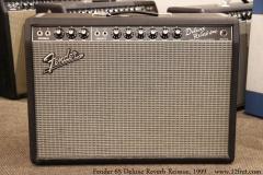 Fender 65 Deluxe Reverb Reissue, 1999 Full Front View