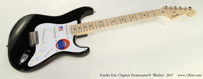 Fender Eric Clapton Stratocaster® 'Blackie', 2017 Full Front View