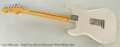 Fender Eric Johnson Stratocaster, White Blonde, 2013 Full Rear View