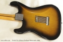 Fender Eric Johnson Sunburst Stratocaster 2005 back