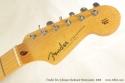 Fender Eric Johnson Sunburst Stratocaster 2005 head front view