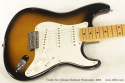 Fender Eric Johnson Sunburst Stratocaster 2005 top