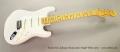 Fender Eric Johnson Stratocaster Maple White 2014 Full Front View