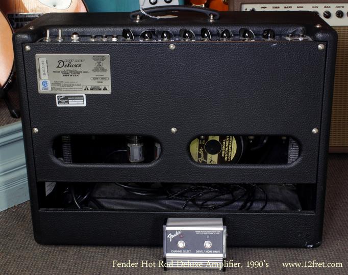 Fender Hot Rod Deluxe Footswitch Fender Hot Rod Deluxe Amp