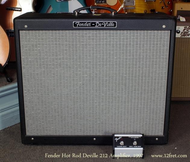 Fender Hot Rod Deville 212 Amp 1997 front