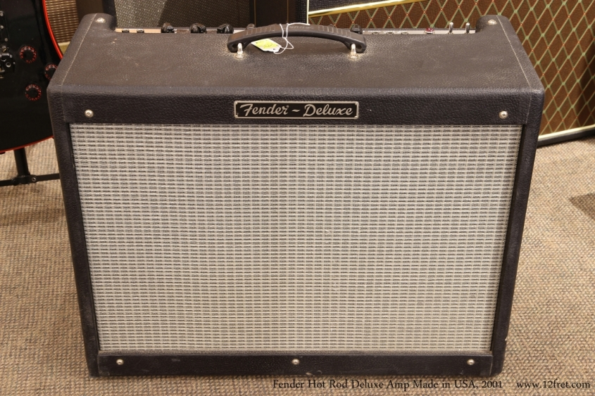 Fender Hot Rod Deluxe Amp Made in USA, 2001   Full Front View