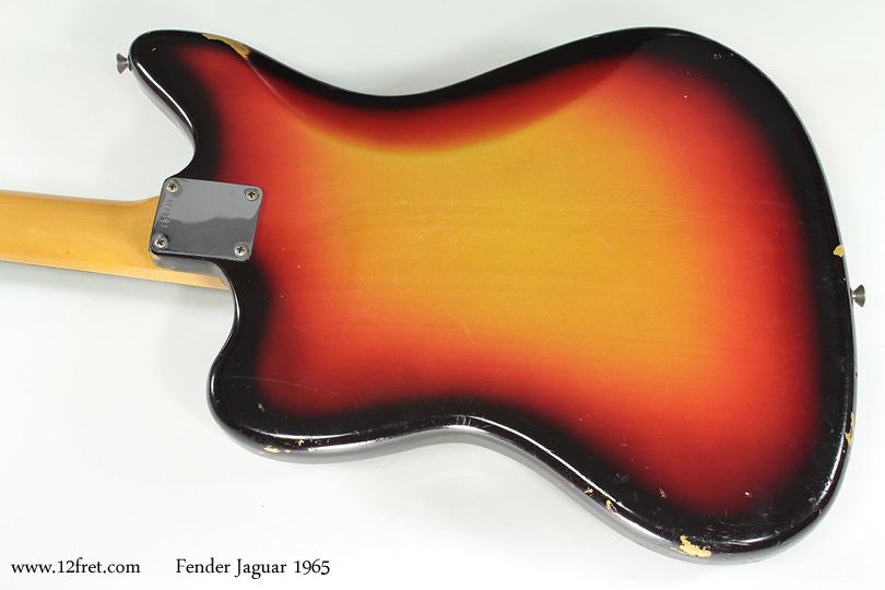 Fender Jaguar 1965 back