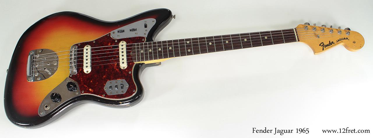 Fender Jaguar 1965 full front view