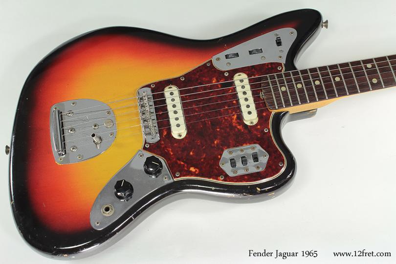 Fender Jaguar 1965 top