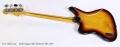Fender Jaguar Bass Sunburst MIJ, 2010 Full Rear View