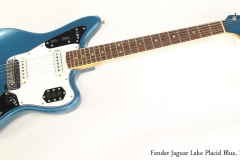 Fender Jaguar Lake Placid Blue, 1966 Full Front VIew
