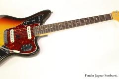 Fender Jaguar Sunburst, 1965  Full Front VIew