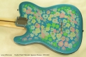 Fender Japan Telecaster Floral 1999 - 2002 back