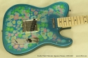 Fender Japan Telecaster Floral 1999 - 2002 top