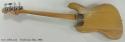 Fender Jazz Bass 1966 full rear view