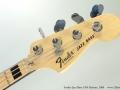 Fender Jazz Bass 1974 Reissue, 2009 Head Front