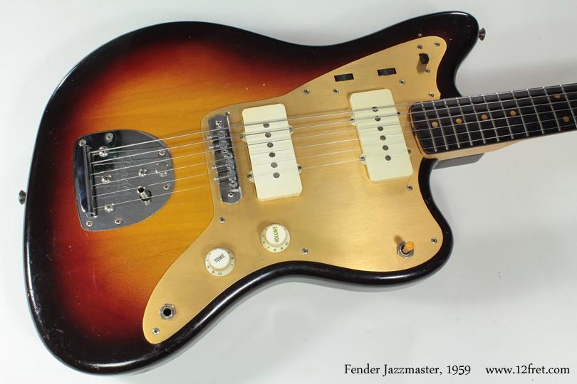 Fender Jazzmaster 1959 top