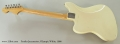 Fender Jazzmaster, Olympic White, 1966 Full Rear View