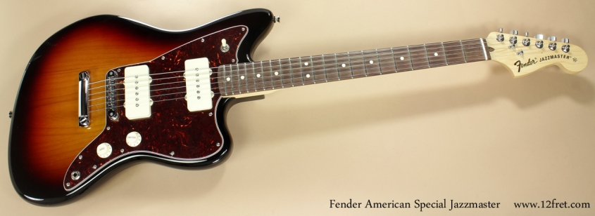 Fender American Special Jazzmaster full front view