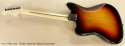 Fender American Special Jazzmaster full rear view