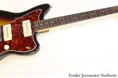 Fender Jazzmaster Sunburst 1960 Full Front View