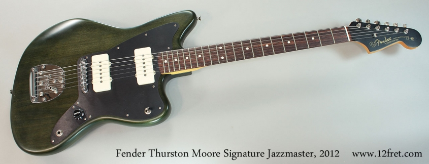 Fender Thurston Moore Signature Jazzmaster, 2012 Full Front View