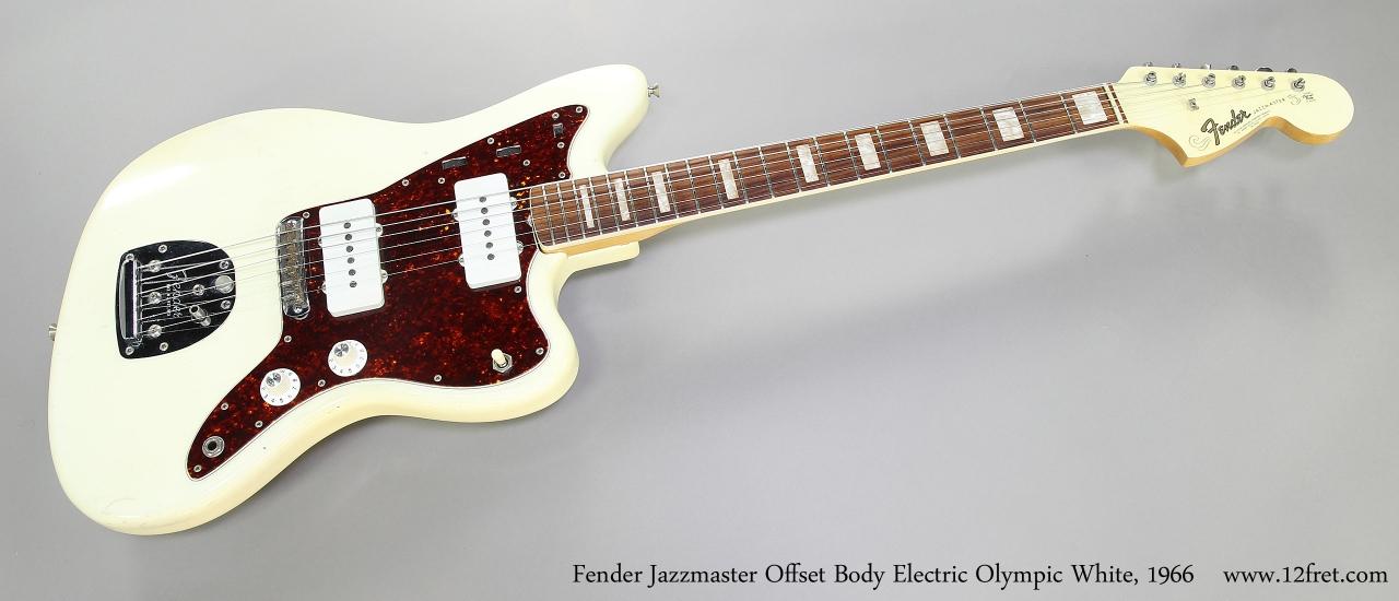 fender jazzmaster offset body olympic white 1966. Black Bedroom Furniture Sets. Home Design Ideas