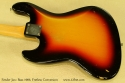 Fender Jazz Bass 1966 Fretless Conversion back