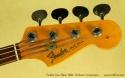 Fender Jazz Bass 1966 Fretless Conversion head front
